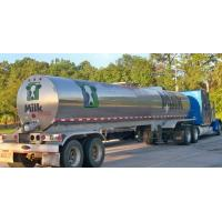 Buy cheap 304 Stainless steel water milk  tanker trailer Stainless Steel Tanker Trailer For Milk and Edible oil App:8615271357675 from wholesalers