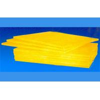Buy cheap Sound Absorbing Material Board / Folding Fabric With Glass Wool Movable Patition from wholesalers