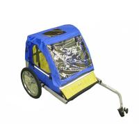 Buy cheap 420D waterproof polyester  textile with PU coating Double Bike Trailers with ASTM, CE from wholesalers
