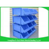Buy cheap Industrial Plastic Storage Boxes , Stackable Recycled Commercial Storage Bins from wholesalers