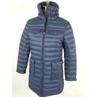 Buy cheap Outdoor Windproof Womens Long Down Winter Coats Goose / Duck Down Jackets product