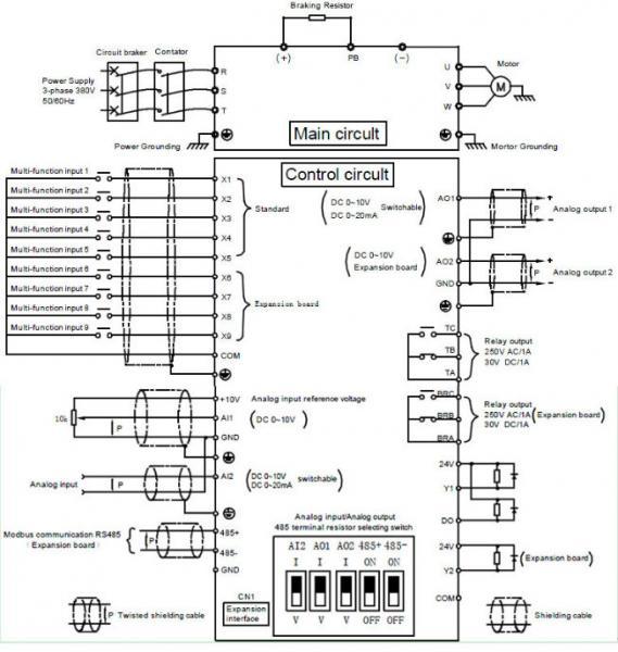 ac to ac 3 phase motor speed controller 380v 400v 50hz to. Black Bedroom Furniture Sets. Home Design Ideas