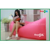 Buy cheap 200 X 70cm Outdoor Beach Lazy Air Nylon Sleeping Sofa / Bag Air Lounge from wholesalers