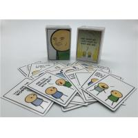 Buy cheap Personalized Playing Cards , Joking Hazard Blank Cards Easy Operation from wholesalers