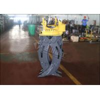 Buy cheap ZX60 Mini Excavator Rotating Grapple Hydraulic Timber Grappling Attachment from wholesalers