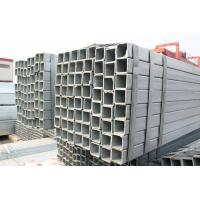 Buy cheap Black Rectangular Steel Tubing , Cold Rolled Pre Galvanized Steel Pipe With Strip Bundle Packing from wholesalers