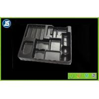 Buy cheap Black Medical Plastic Tray With Embossing Printing , Food Packaging Trays product