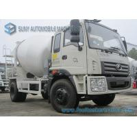 Buy cheap Foton Rowor C1 Cab 4X2 Truck 180 Horsepower Transport Mixer 5 M3 Mixing Capacity from wholesalers