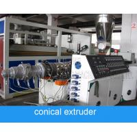 Buy cheap ABB Inverter 160mm 120kg/H Pvc Pipe Extruder from wholesalers