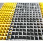 Buy cheap Yellow Fiberglass Reinforced Grating FRP Flooring Decking Walkways 1 Year Service from wholesalers