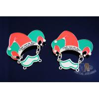 Buy cheap Metal Enamel Carnival Lapel Pin Badges No Minimum Order For Football Event Eco Friendly from wholesalers