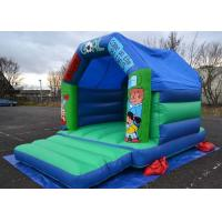 Buy cheap 12x15 Football Kids Inflatable Bouncer Castle Used In Family Party from wholesalers