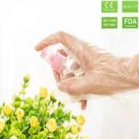 Buy cheap 2019 Low price Disposable CPE Gloves for food service color  clear or blue from wholesalers