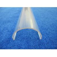 Buy cheap Extrusion profiles plastic clear cover for Polycarbonate led light diffuser from wholesalers