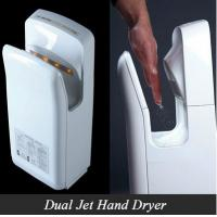 Buy cheap Hotel high speed hand dryer,dual jet air hand dryer energy saving from wholesalers