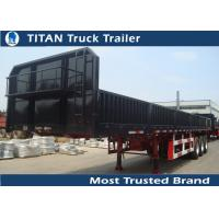 Buy cheap Premium steel 50 Tons Flatbed Semi Trailer truck for your rental business from wholesalers
