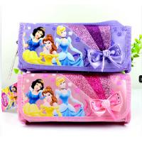 Top quality Disney Princess Plush Pencil Case Animal Zipper Pencil Pouch For Promotion Gifts for sale
