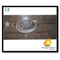 Buy cheap Xiamen Kungfu Stone Ltd supply Cafe Woode Marble Countertops In High quality from wholesalers