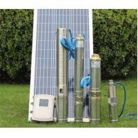 Buy cheap Multi Stage DC Solar Water Pump Solar Stainless Steel 38mm Outlet High Pressure from wholesalers