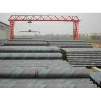 Buy cheap Spiral Welded Galvanized Steel Water Pipe , Length 5.8 - 12.2m Or At Customers' Option from wholesalers