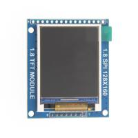 Buy cheap SD Card Slot LCD Driver Board 1.77 Inch 128x160 SPI Port Serial Interface 350cd/m² from wholesalers