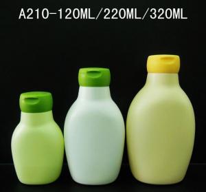 Buy cheap 120ml 220ml 320ml PE shampoo bottles, Children's New style  shower gel bottles product
