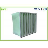 MERV 5 - 14 Industrial Air Filter 50 - 80Pa Initial Pressure Drop Aluminium Frame