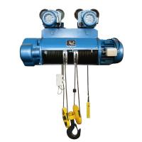 Buy cheap 380V / 50HZ / 60HZ Electric Wire Rope Hoist 10 16T 20T For Large Capacity from wholesalers