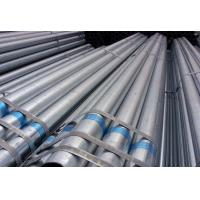 Buy cheap Hot Dip Welding Galvanized Steel Pipe Square / Rectangular / Round Section Shape from wholesalers