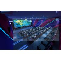 Buy cheap 3.75KW 5D Movie Theater For Fun Ride Roller Coaster Simulator Commercial Amusement Park product