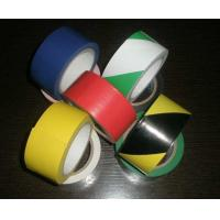 Buy cheap Polyvinyl And Rubber Adhesive Pvc Warning Tape For Building Or Traffic Protection from wholesalers