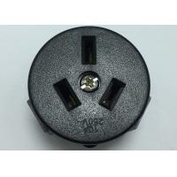 Buy cheap PC Wall Argentina Electric Plug Sockets Single Power Outlet Round Shape from wholesalers