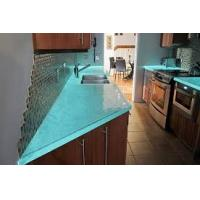 Buy cheap supply custom made to order,Glass countertops,Tinted or coloured glasses available from wholesalers