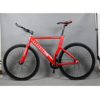 Buy cheap Fashion style aluminium alloy 700c fixed gear bike/bicicle with 560mm frame height from wholesalers