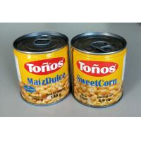Buy cheap Tonos Brand Sweet Canned Corn Maiz Dulze 185g Lithographic Cans from wholesalers