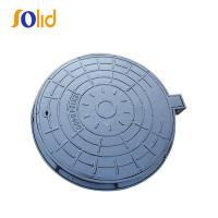 Buy cheap EN124 D400 Epoxy Painting Ductile Iron Sewer Manhole cover from wholesalers