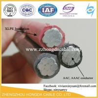 Buy cheap Aerial insulated cable with rated voltage 1KV and Aerial Bundle Cable(ABC cable) from wholesalers