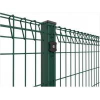 Buy cheap Roll Top Welded Wire Mesh Fence Panels Galvanized / Powder Coated Surface from wholesalers