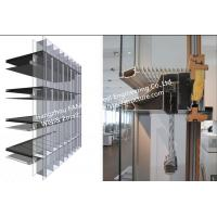 Buy cheap Double-Skin-Façade Glass Curtain Wall System with thermal insulated and laminated glass from wholesalers