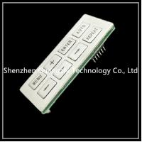 Buy cheap Customized Membrane Switch Keypad , Mfg Pet Embossing Silicone Rubber Keypad from wholesalers