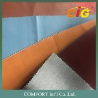 Buy cheap Classic Surface Wet PU Leather / PU Synthetic Leather  Thickness 0.8 - 1.0mm product
