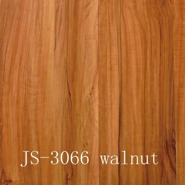 Melamine paper furniture decorative paper js 3066walnut for Furniture decoration paper