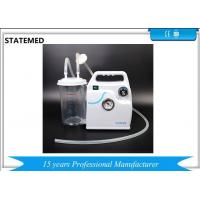 Buy cheap Abs / Pvc Consumable Medical Supplies Small Electric Medical Suction Machine from wholesalers