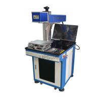 Buy cheap Glass Wood Laser Marking Machine with 30W RF Laser Marking Machine from wholesalers