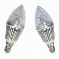 Buy cheap LED candle lamp with E12 base 3W from wholesalers