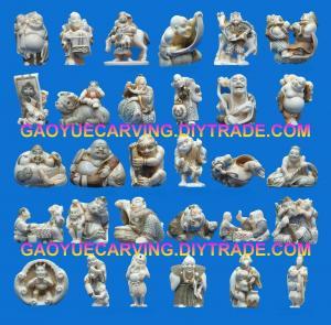 China Mammoth Netsukes Mammoth Statues on sale