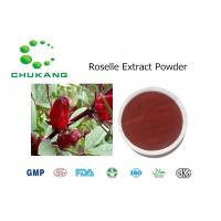 Buy cheap Roselle Extract Polyphenol Plant Extract Powder Hibiscus Sabdariffa Linn. from wholesalers