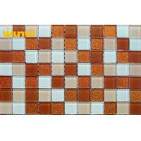 Buy cheap Wear Resistant Swimming Pools Stained Glass Mosaic Tiles With 300 × 300mm from wholesalers