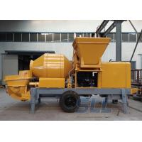 Buy cheap Lightweight Concrete Mixer Pump With Mixer Electric Motor Double Shaft Type from wholesalers