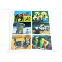 Buy cheap Waterproof 3D Fridge Magnets PP / PET Lenticular Flip Effect Magnet from wholesalers